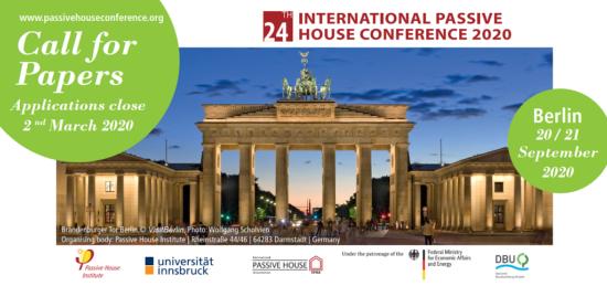 la 24ème Conférence Internationale Passivhaus